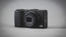 Ricoh GR front view lens open