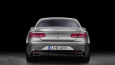 2015 Mercedes-Benz S-Class Coupe rear