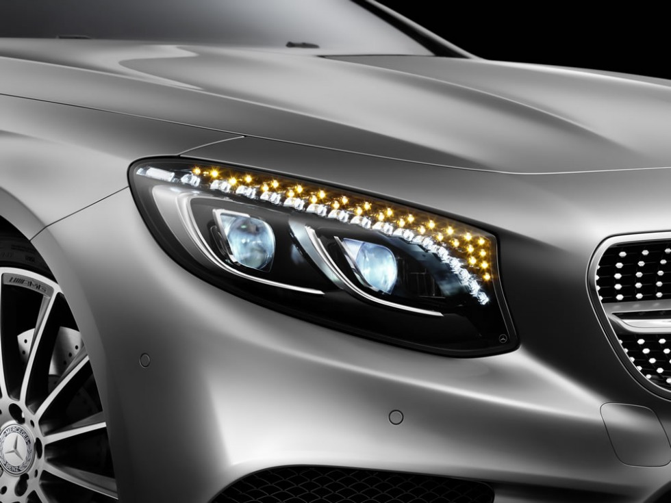 Mercedes-Benz S-Class Coupe Headlamps