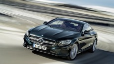 2015 Mercedes-Benz S-Class Coupe Driving