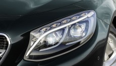 2015 Mercedes-Benz S-Class Coupe Black Headlight