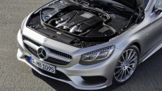 2015 Mercedes-Benz S-Class Coupe Engine Aerial