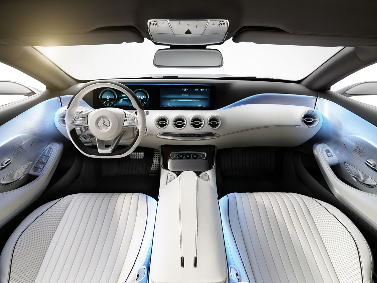 2015 mercedes s class coupe concept interior - 2015 Mercedes S Class White
