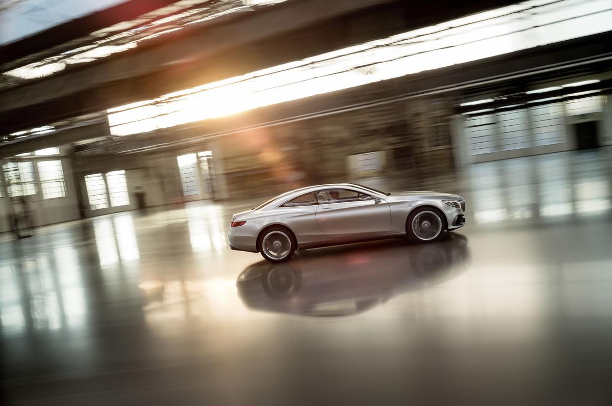 2015 Mercedes S-Class Coupe Concept 11