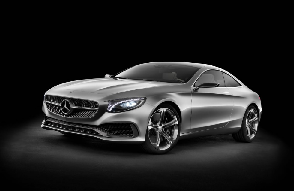 Mercedes-Benz S-Class Coupe Concept Wheels
