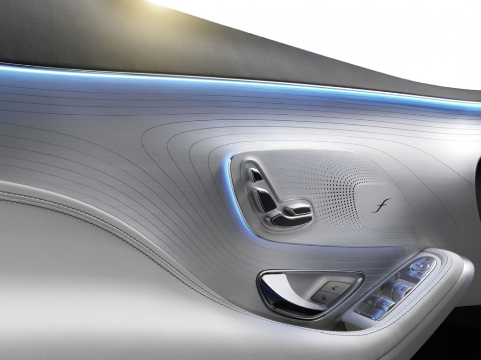 Mercedes-Benz S-Class Coupe Concept Interior Door