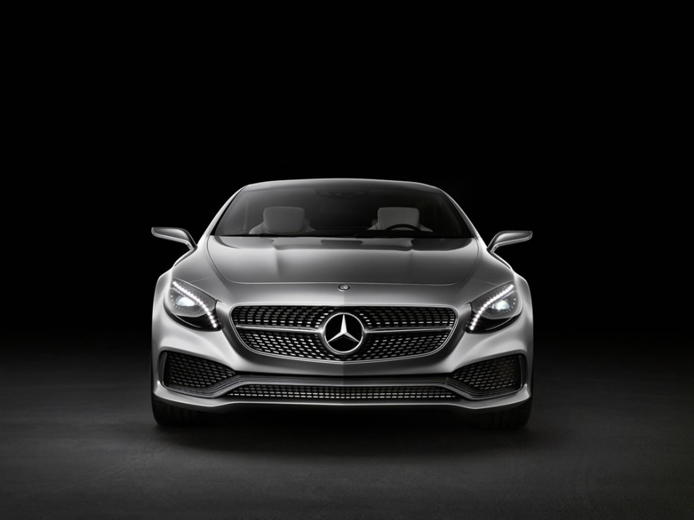 Mercedes-Benz S-Class Coupe Concept Grille