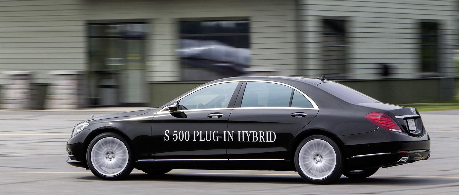 Ahead of its launch in September, new deMercedes-Benz S500 Plug-in Hybrid