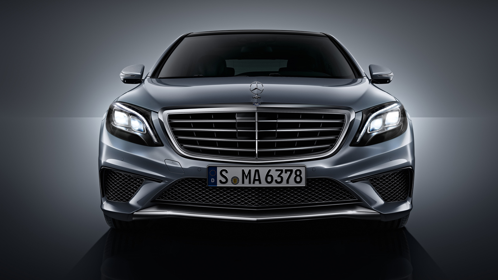 2014 mercedes s63 amg grille - Mercedes Benz S63 Amg 2014