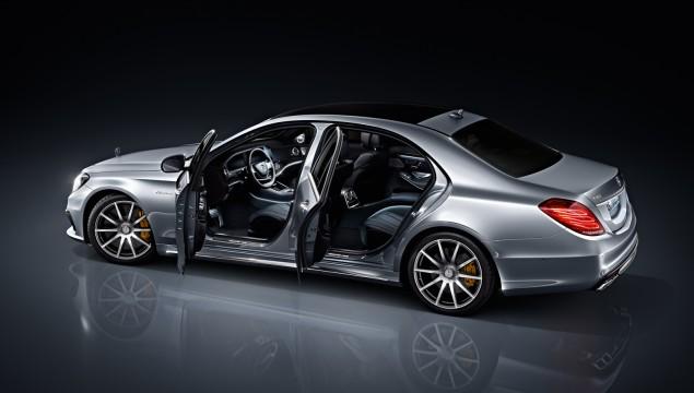 2014 Mercedes S63 AMG Doors Open