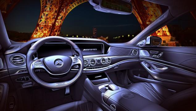 2014 Mercedes S63 AMG Interior