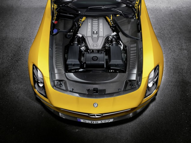 SLS AMG Coupé Black Series, AMG Solarbeam engine