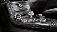 2014 SLs AMG Black Series gear shift