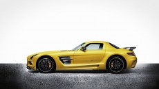 2014 SLs AMG Black Series side profile