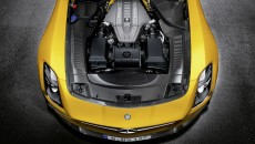 2014 SLs AMG Black Series engine