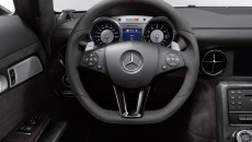 2014 SLs AMG Black Series interior steering wheel