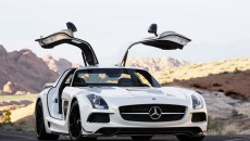 2014 SLS AMG Black Series Coupe white