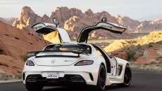 2014 SLS AMG Black Series Coupe rear