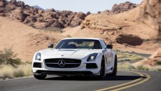 2014 SLS AMG Black Series Coupe front grille
