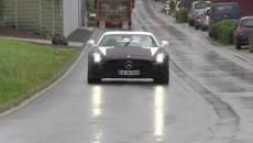 Mercedes SLS AMG Black Series Spy Photo grille