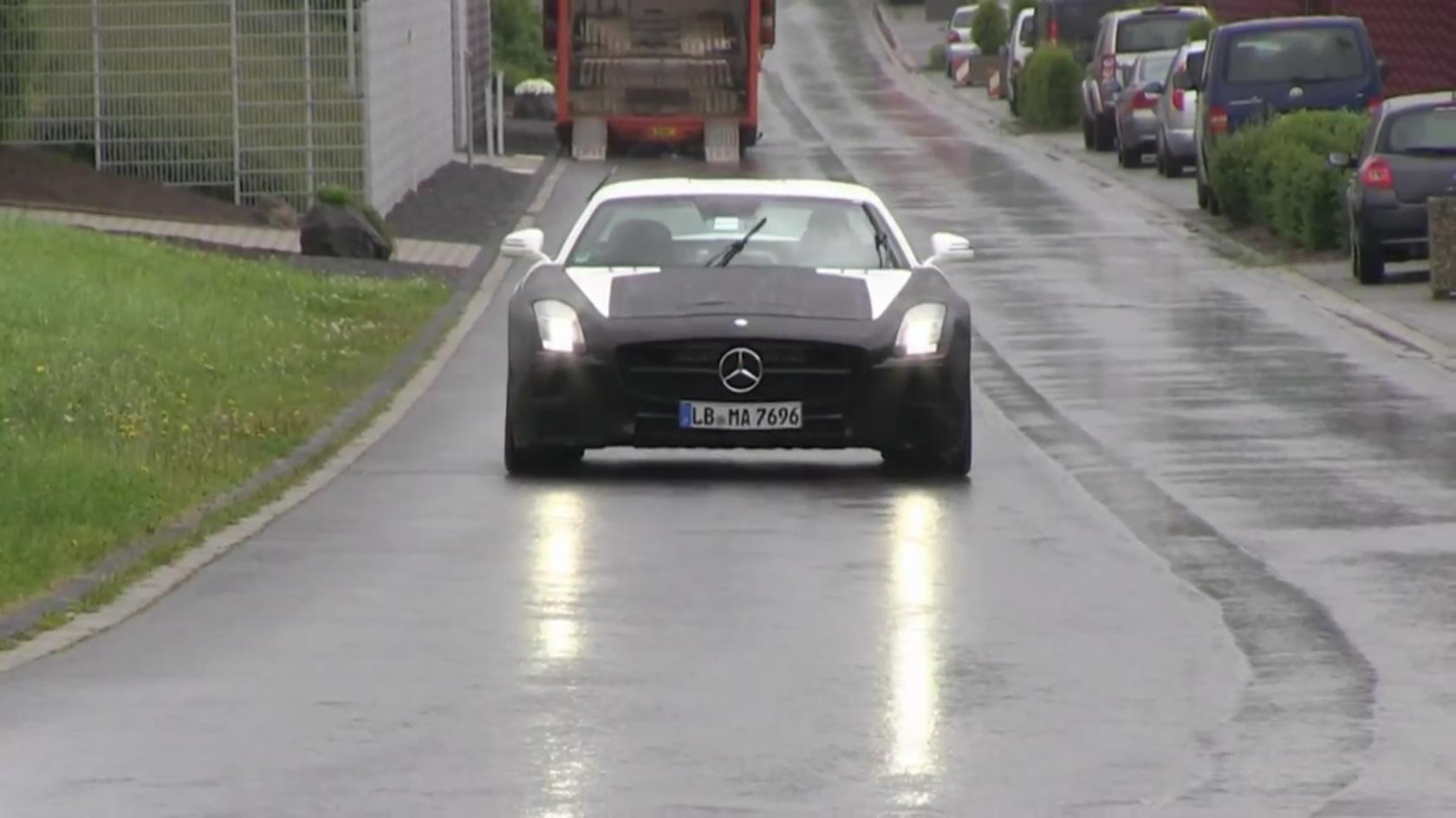 Mercedes SLS AMG Black Series Spy Photo 3