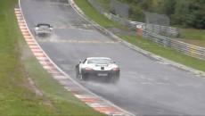 Mercedes SLS AMG Black Series Spy Photo nurburgring testing