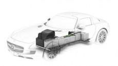 SLS AMG E-Cell Cutaway Mercedes
