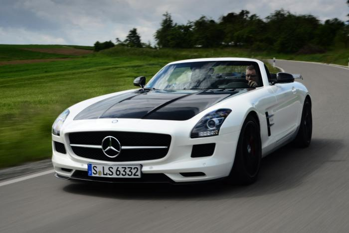Mercedes SLS AMG Final Edition 8