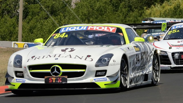 SLS AMG GT3 in the Bathurst 12 Hour Race