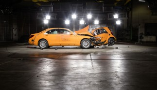 smart fortwo Crash Test