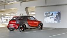 smart forstars NAIAS Detroit Auto Show 2013 rear