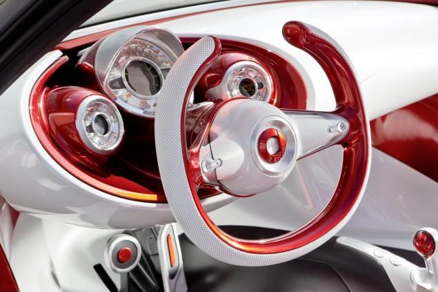 smart forstars NAIAS Detroit Auto Show 2013 steering wheel