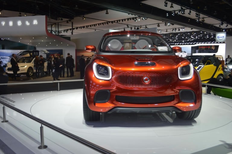 smart forstars at NAIAS in Detroit 3