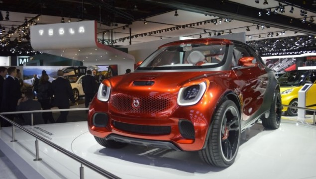 smart forstars at NAIAS in Detroit