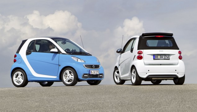 smart fortwo edition iceshine Available in October