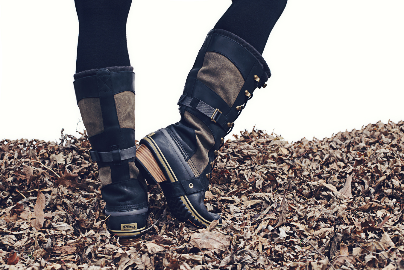 Perfect Sorel Conquest Carly Boots In Brown  Lyst
