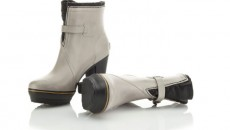 Rainstorms have never been so stylish: the vulcanized rubber upper on the silver sage Sorel rain boots ensure feet stay dry and protected while a molded EVA footbed features a PU insert in the forefoot for added comfort. Via: Sorel$200