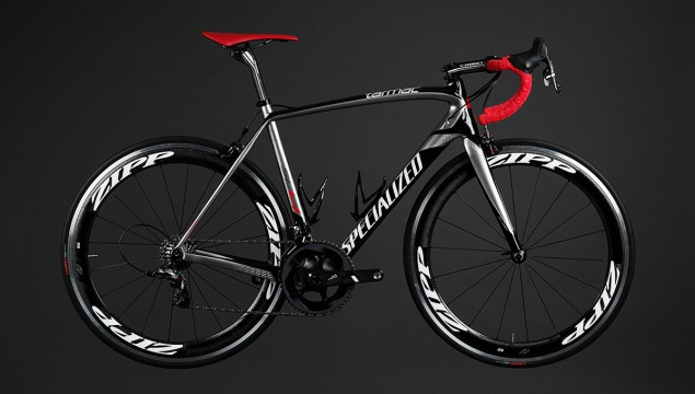 Specialized Tarmac SL4 Pro Race side view