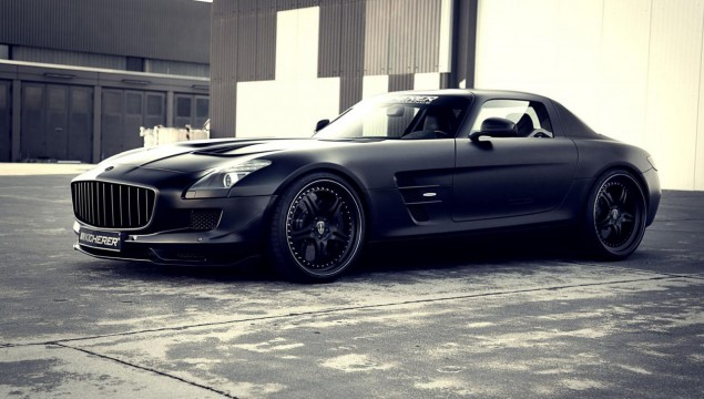 Kicherer SLS Supercharged GT Mercedes SLS AMG Gullwing