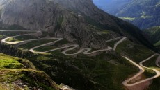 Connecting the historic regions of Transylvania and Wallachia, and the cities of Sibiu and Pitești, the Transfăgărășan Road is 56 miles of breathtaking twists and turns. Constructed between 1970 and 1974, it is the second highest paves road in Romania. Take the route from the North for steep hairpin turns, long s-curves, and sharp descents.