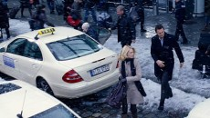 Featuring four generations of the Mercedes E-Class, Unknown Identity could also double as an E-Class taxi infomercial.