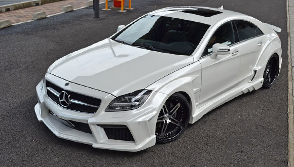 Mercedes-Benz CLS by Japanese Tuner Vitt