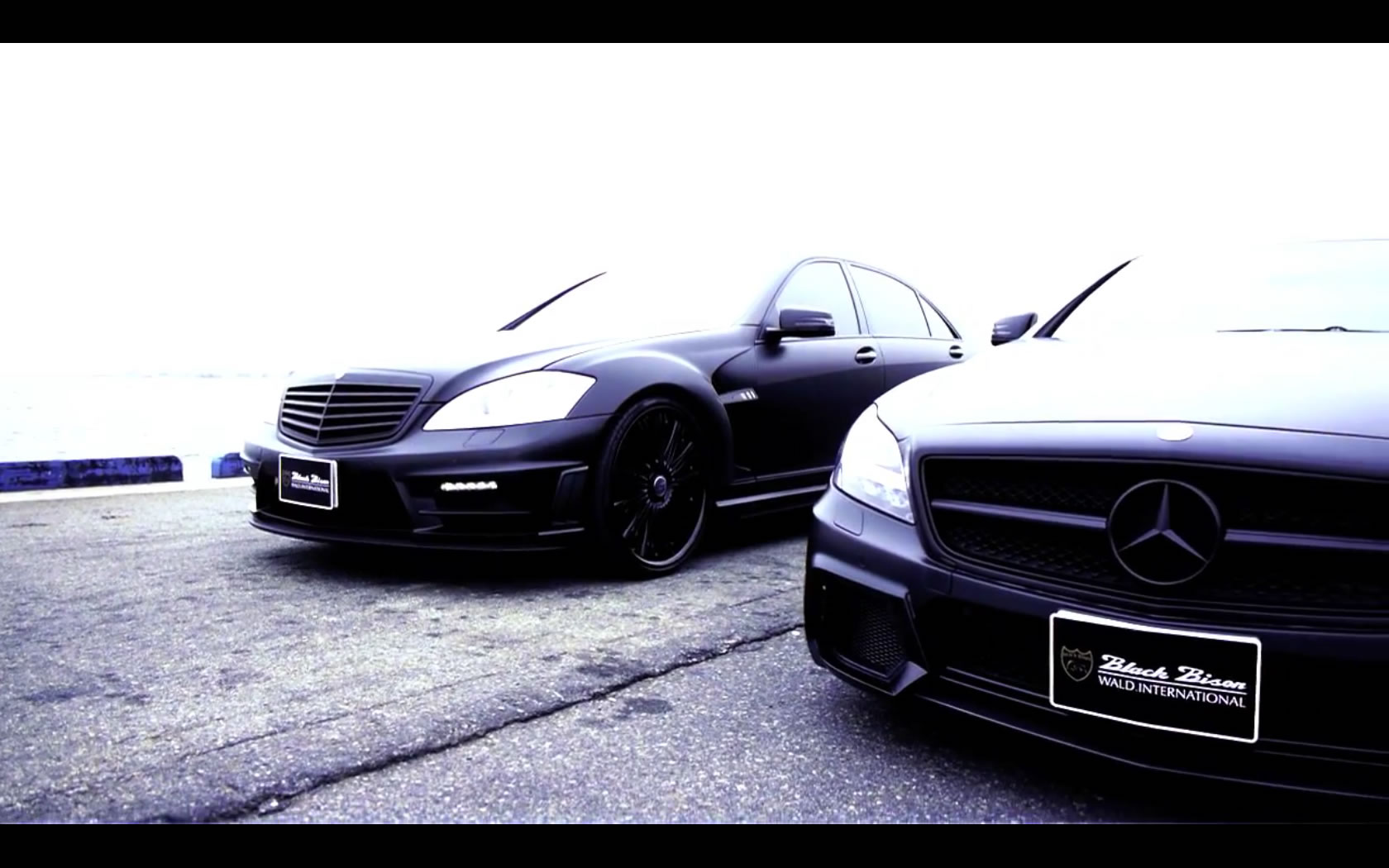 Mercedes g Class Blacked Out Wald Black Bison S-class And