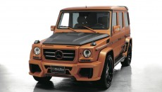 Wald Mercedes-Benz G-Class Sports Line Black Bison front