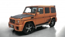 Wald Mercedes-Benz G-Class Sports Line Black Bison side exterior