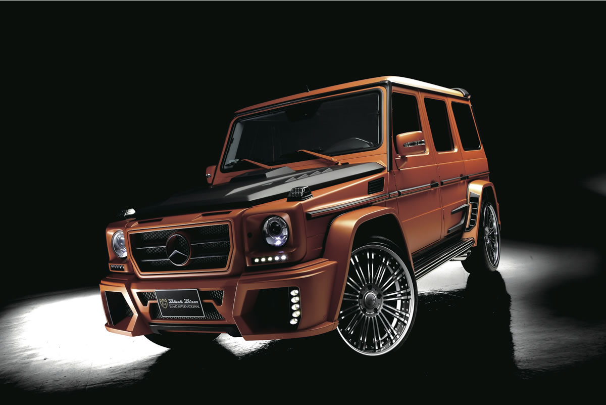Wald Mercedes-Benz G-Class Sports Line Black Bison 18