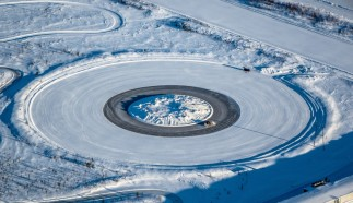 Winter Tire Test Track
