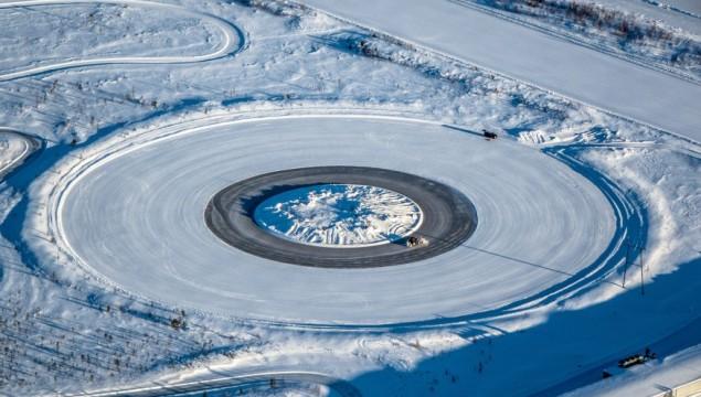 Winter Tire Test Track