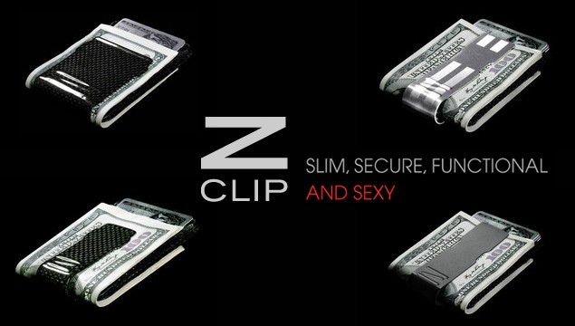 ZCLIP - The Last Money Clip or Wallet You Will Ever Buy